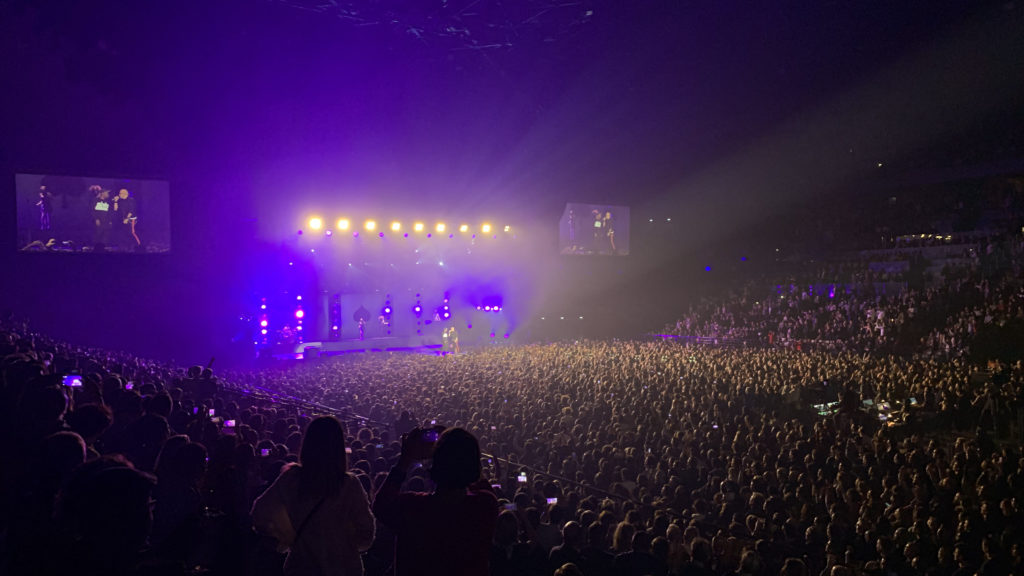 Concert à l'Accor Arena de Bercy
