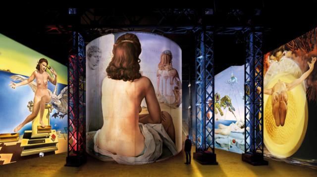 Salvador Dalí, Fundació Gala-Salvador Dalí, ADAGP 2020 simulation © Culturespaces, Nuit de Chine
