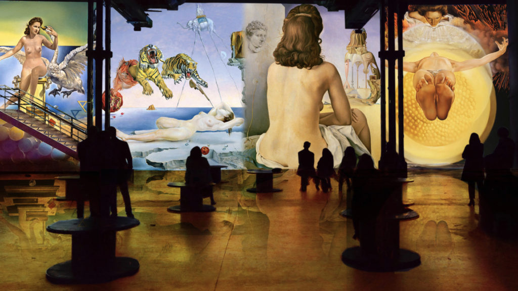 Salvador Dali, Fundacio Gala Salvador Dali, ADAGP 2020 simulation © Culturespaces, Nuit de Chine