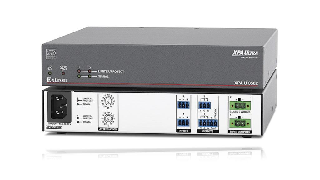 Extron présente l'amplificateur demi-rack de qualité professionnelle le plus puissant au monde © DR
