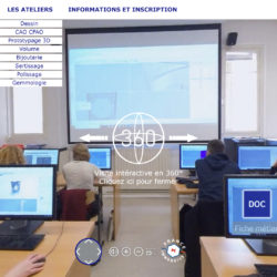 Des JPO VR sous l'ère Covid grâce à France Immersive © DR