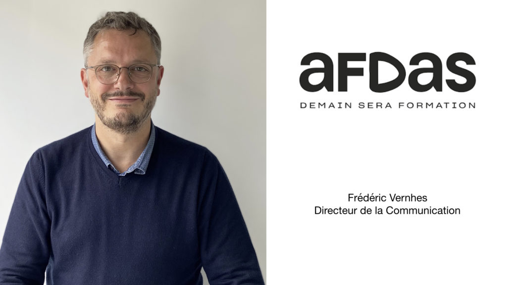 Frédéric Vernhes, nouveau directeur de la communication de l'Afdas © DR