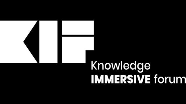 Le Knowledge Immersive Forum (KIF) annonce sa Re : Naissance pour sa 1ère édition © DR