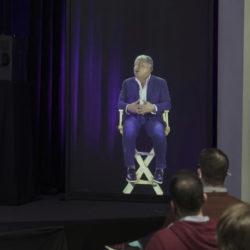 ARHT Media et WeWork misent sur des options d'événements holographiques © DR