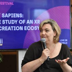 Jeanne Machalot, directrice du StoryLab XR de France Télévisions
