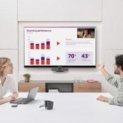 Barco élargit sa gamme ClickShare pensé pour de nouveaux modes de travail hybride © DR