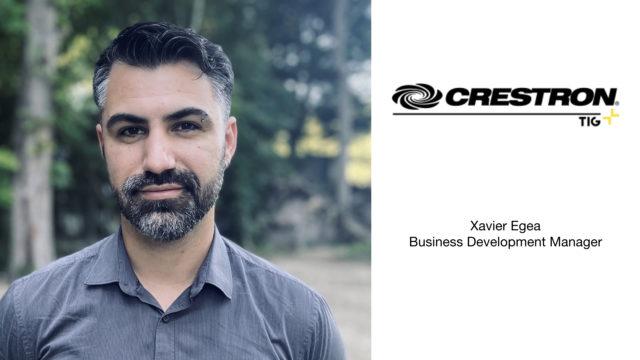 TIG nomme un nouveau Business Development Manager Crestron pour la France © DR