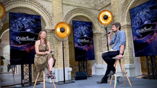 """Conférence en streaming live """"Nouveaux regards pour demain !"""" © Nathalie Klimberg"""