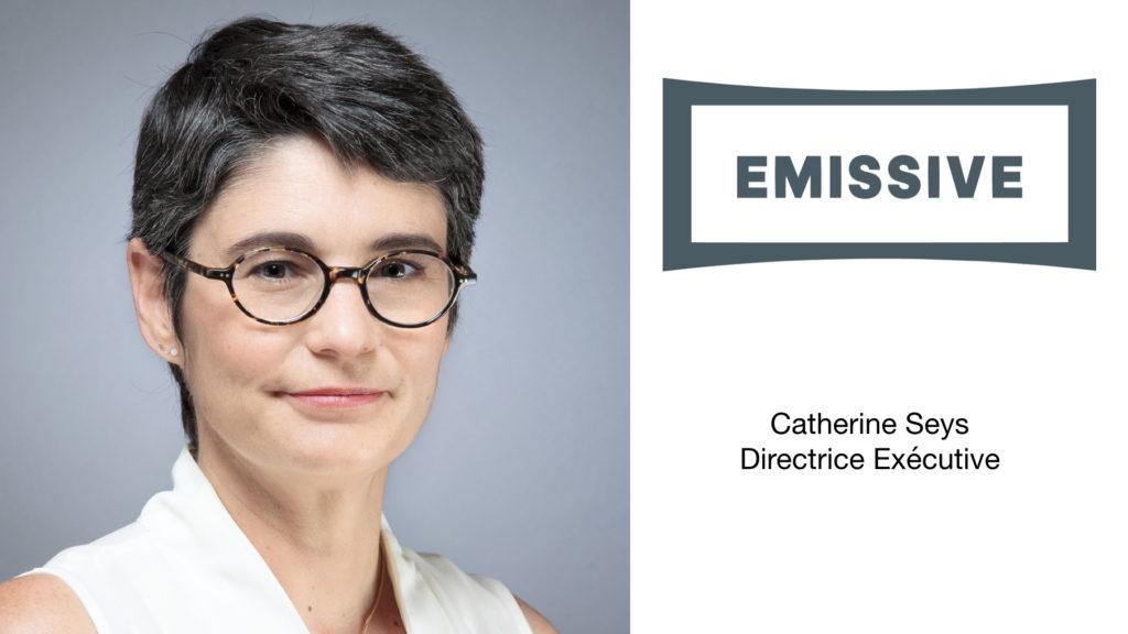 Catherine Seys devient Directrice Exécutive chez Emissive © DR