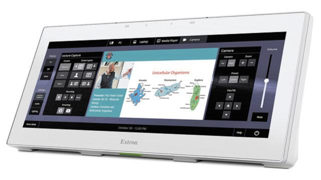 Le contrôle audiovisuel, l'aperçu vidéo et l'annotation sur un seul écran avec Extron © DR