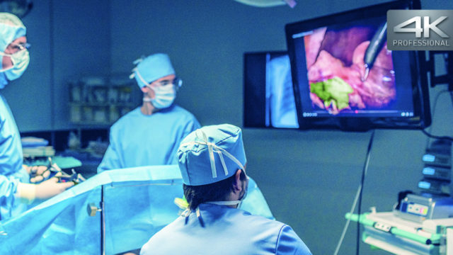 Panasonic poursuit son entrée sur le marché de l'équipement médical avec la caméra 4K-4MOS © DR