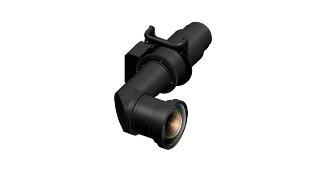 Optique courte focale pour Projecteurs Panasonic © DR