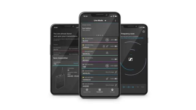 L'appli Smart Assist App guide les utilisateurs dans l'installation de leur système de micro sans fil. © DR