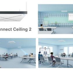 Avec TruVoicelift, TeamConnect Ceiling 2 assure une intelligibilité parfaite du discours en salles de classe et ou de conférence © DR