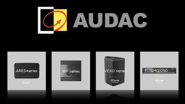 Audac highlights its new products... © DR