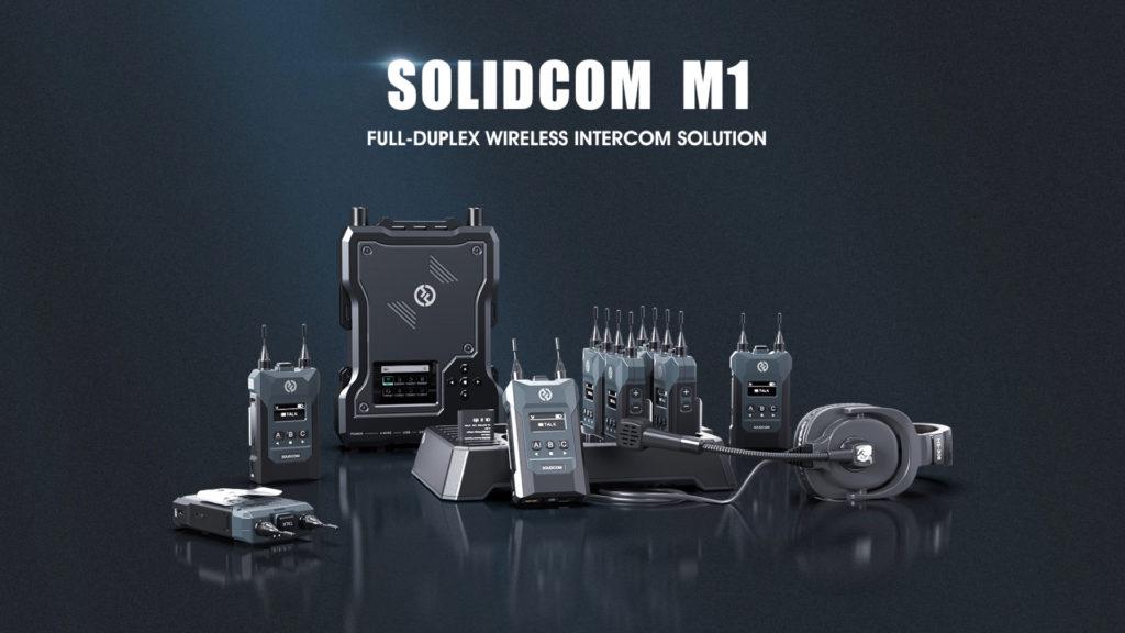 Une nouvelle génération d'intercom sans fil avec Hollyland Solidcom M1 © DR