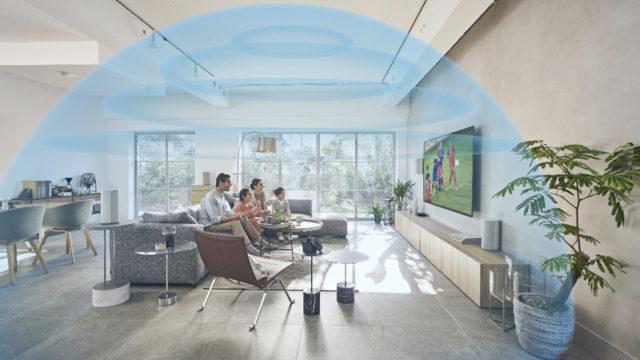 Repoussez les limites du son surround avec le nouveau concept HT-A9 Système Home Cinéma Dolby Atmos de Sony © DR