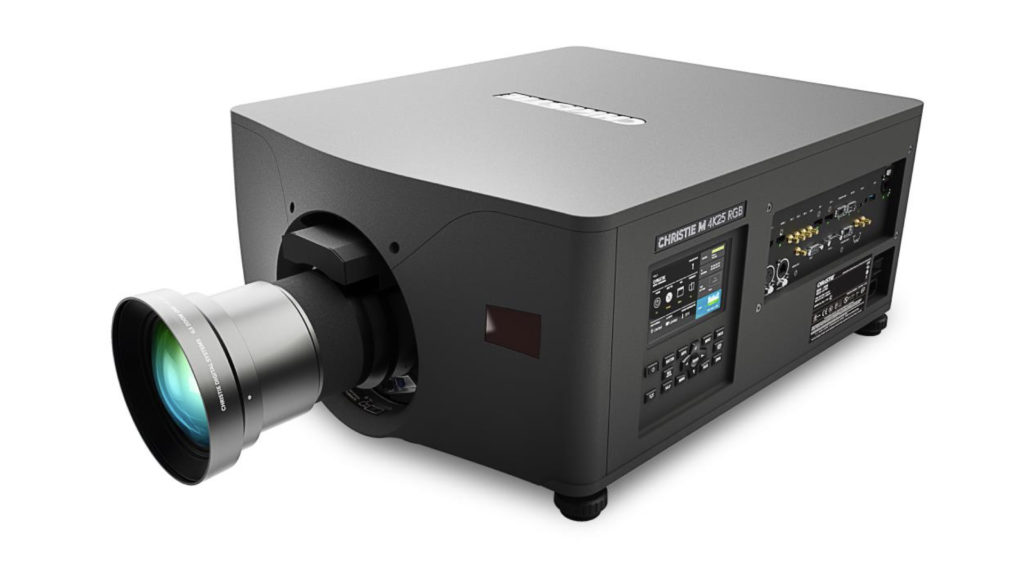Christie réinvente une référence avec le lancement du nouveau projecteur au laser pur M 4K25 RGB © DR