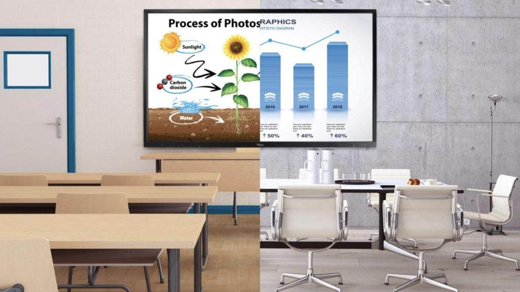 Optoma vous donne rendez-vous sur le salon IT Partners 2021 avec sa gamme d'Écrans Numériques Interactifs © DR