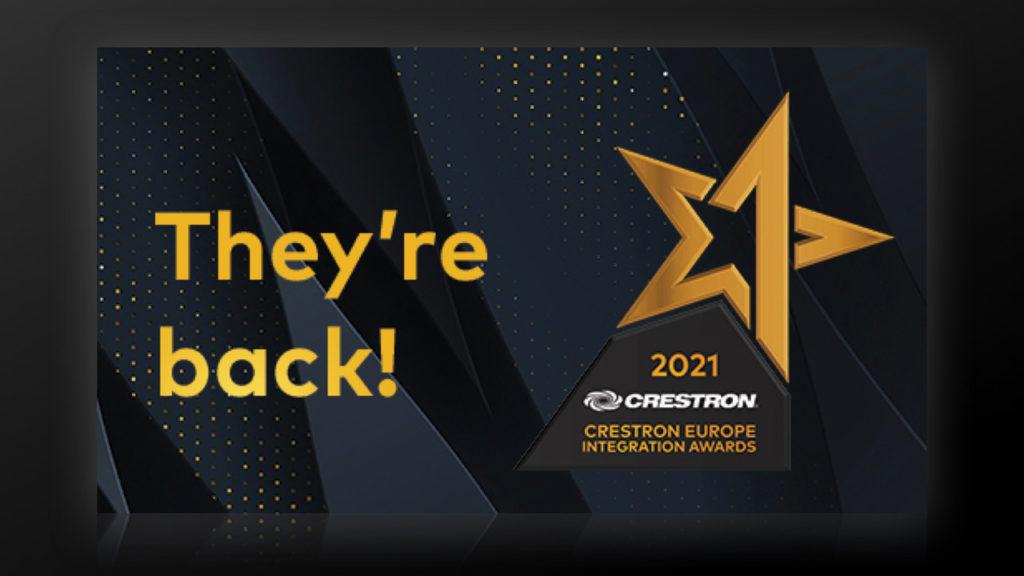 Les Crestron Europe Integration Awards 2021 ... pour récompenser les projets les plus innovants !